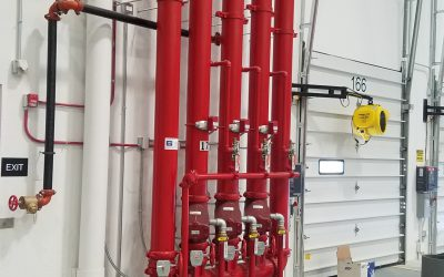 Protecting irreplaceable assets with a pre-action fire sprinkler system