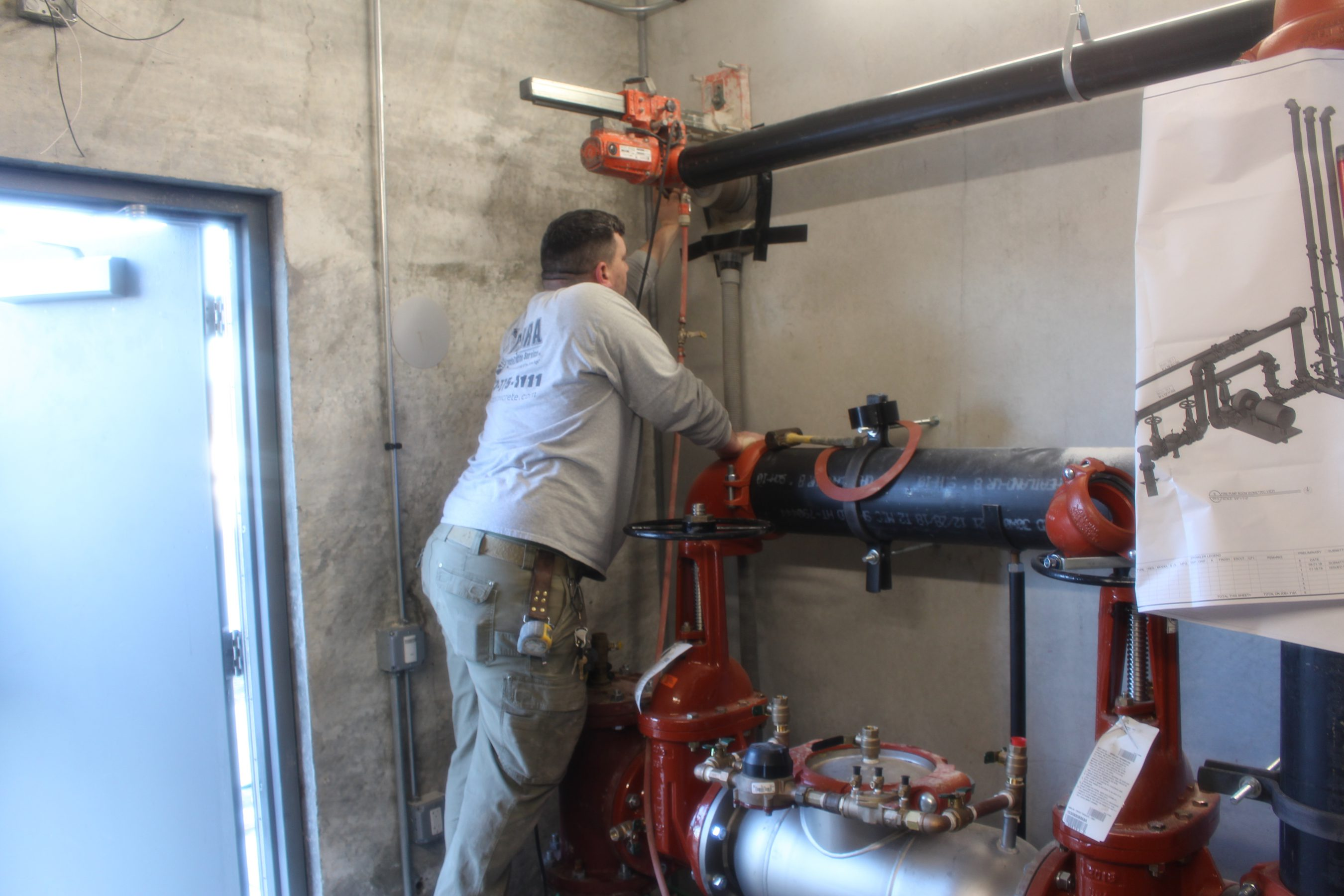 Ensuring protection through a five-year internal fire sprinkler system inspection