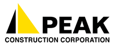 Peak Construction Logo