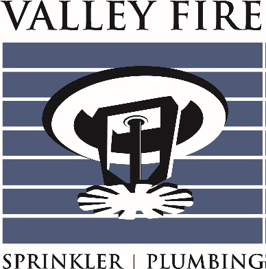 Valley Fire / Plumbing Logo